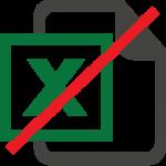 kein Excel mehr